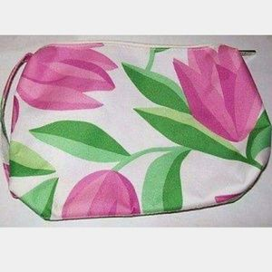 Clinique Pink Tulip🌷 Cosmetic Bag